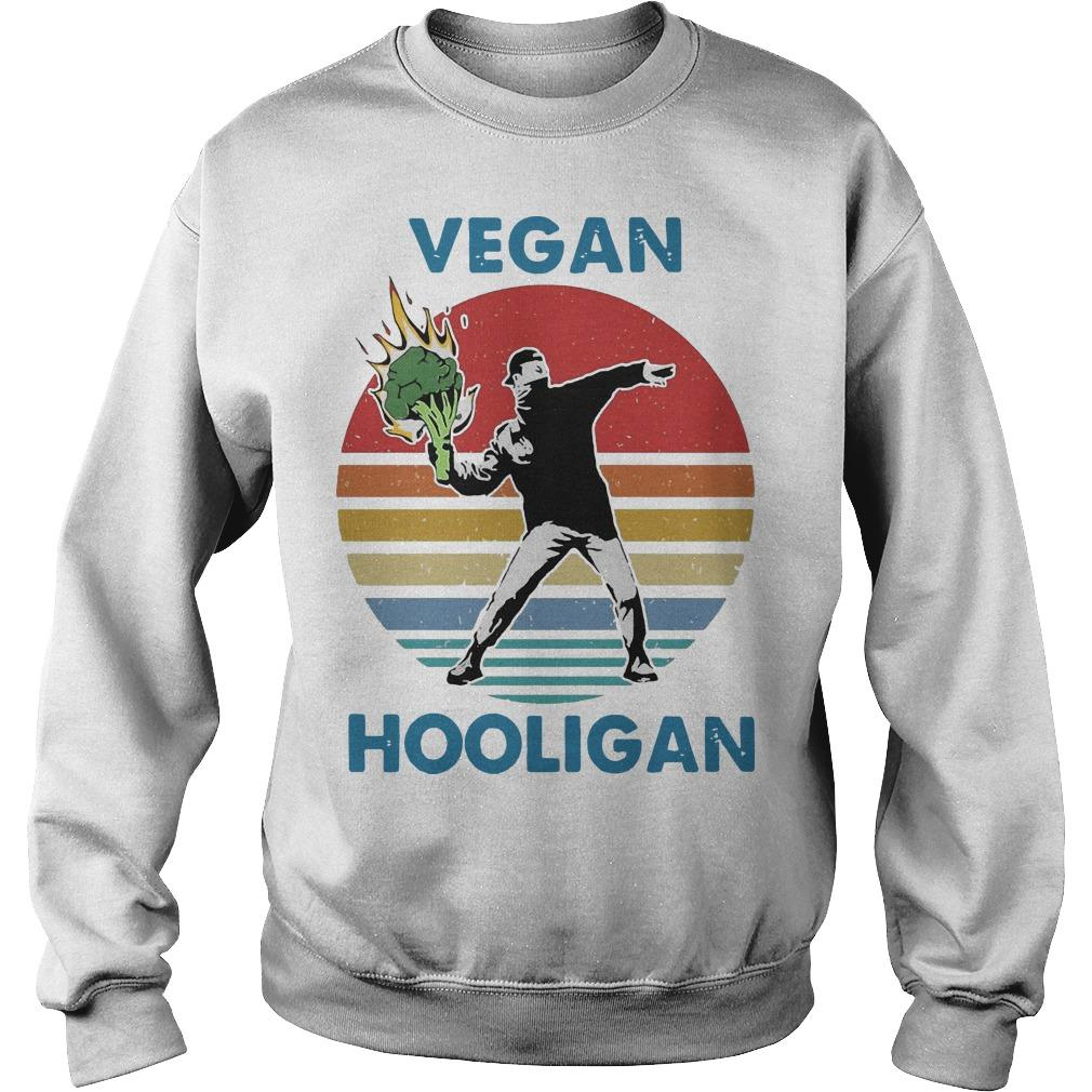 Vintage Vegan Hooligan Sweater