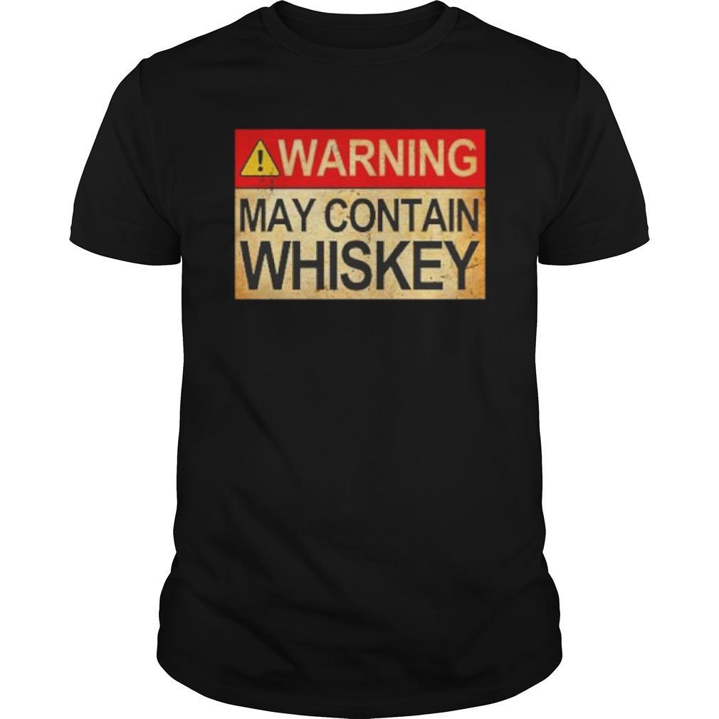 Warning May Contain Whiskey Longsleeve