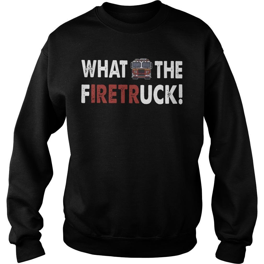 What The Firetruck Sweater