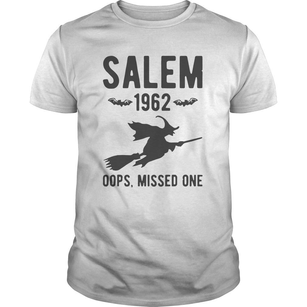 Witch Salem 1962 Oops Missed One Longsleeve