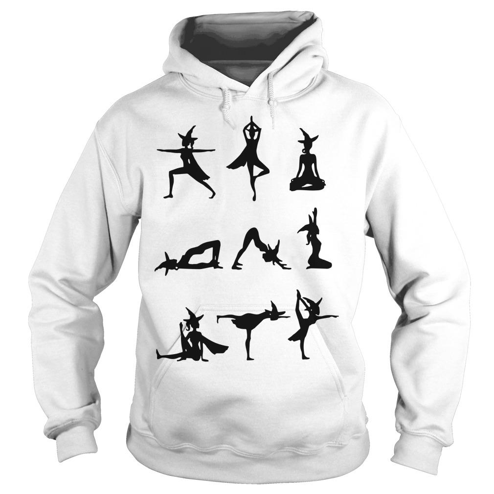Witch Yoga Exercise Hoodie