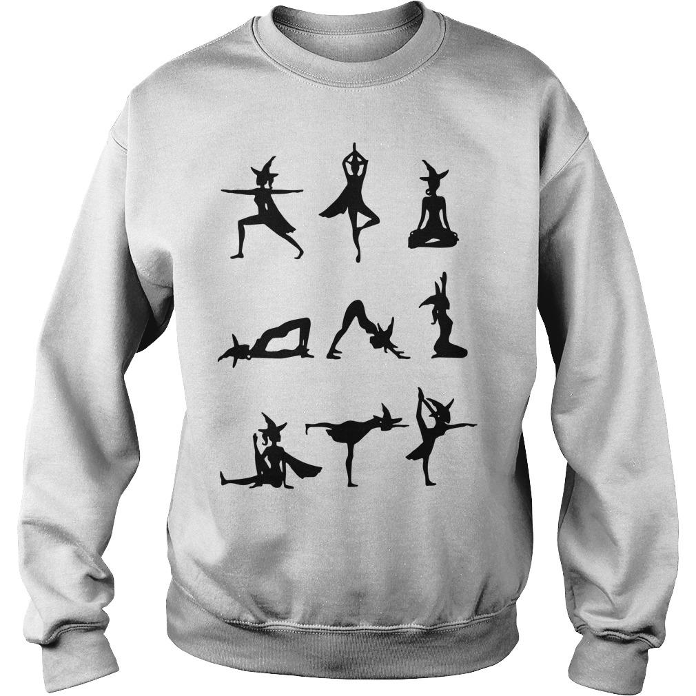 Witch Yoga Exercise Sweater