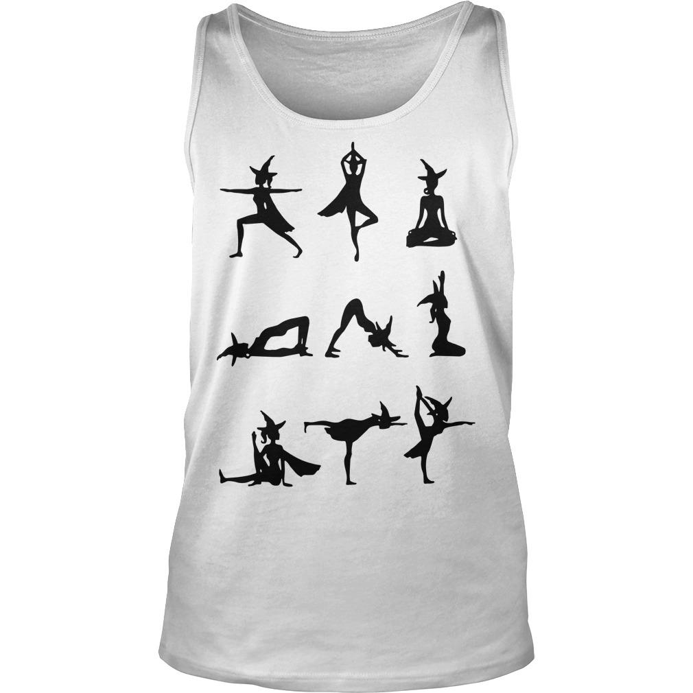 Witch Yoga Exercise Tank Top