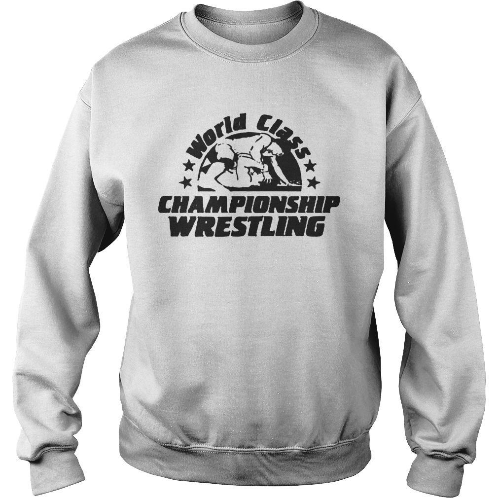 World Class Championship Wrestling Sweater