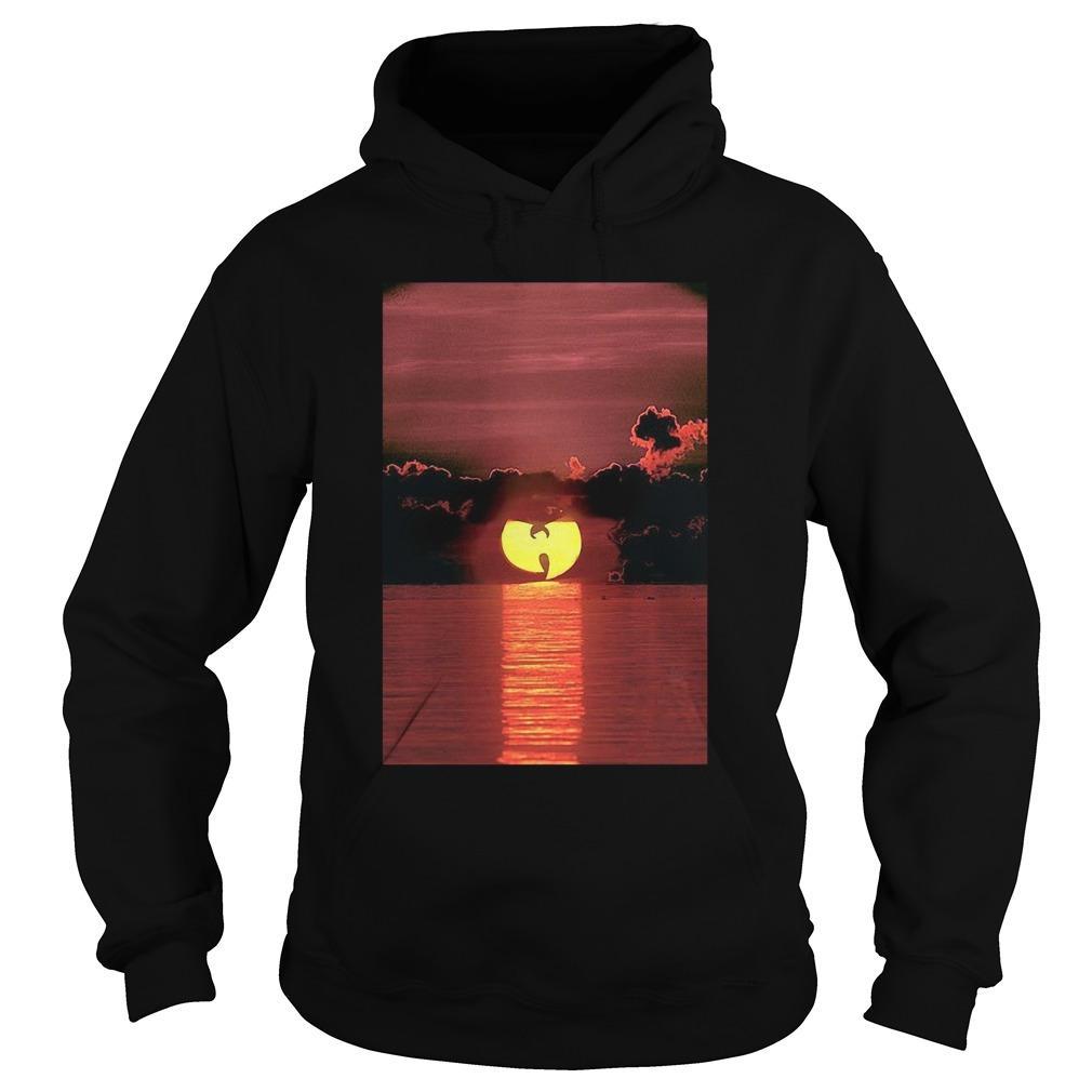 Wu Tang Clan Sunset On The Beach Hoodie