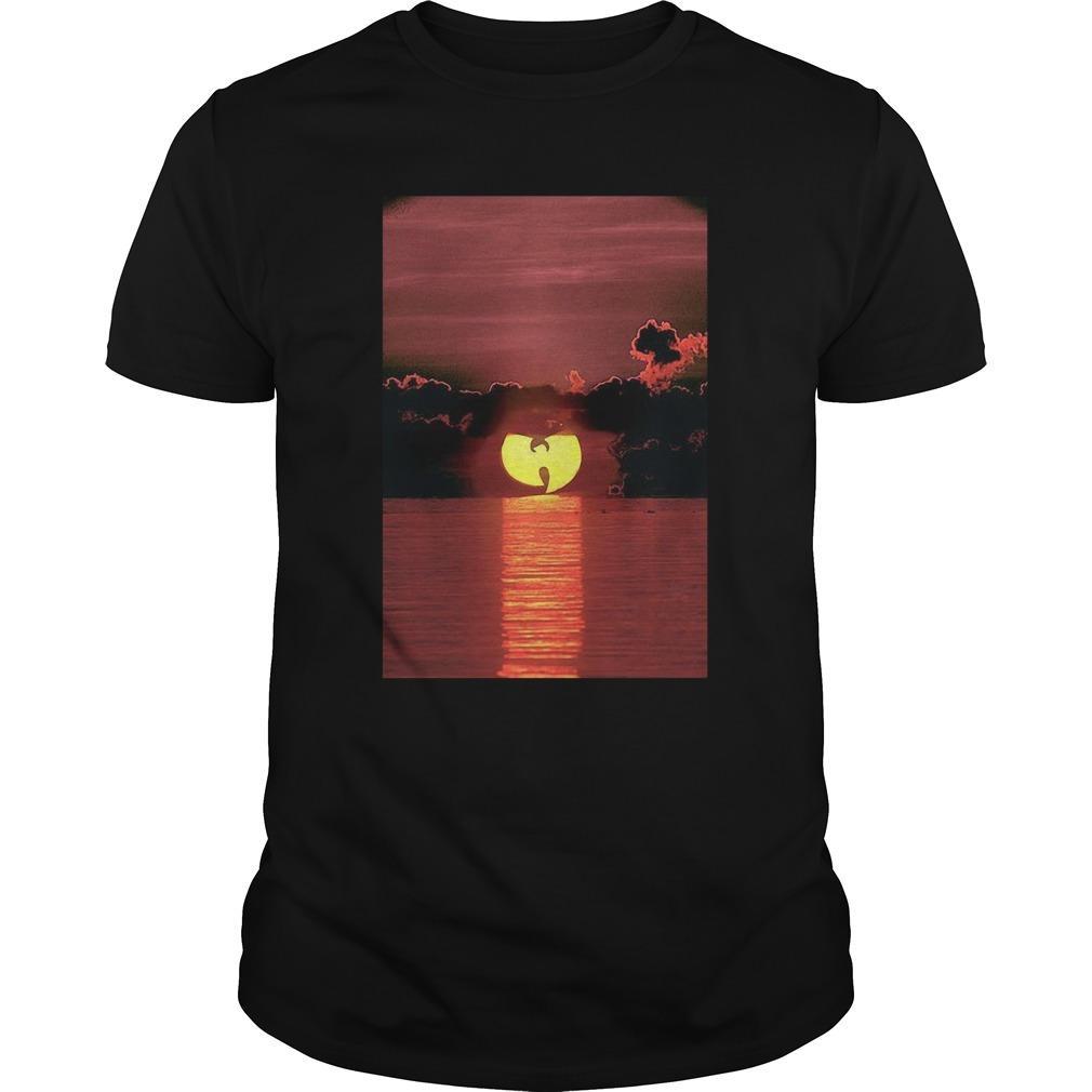 Wu Tang Clan Sunset On The Beach Longsleeve