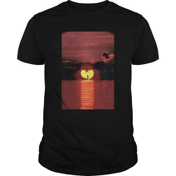 Wu Tang Clan Sunset On The Beach Shirt