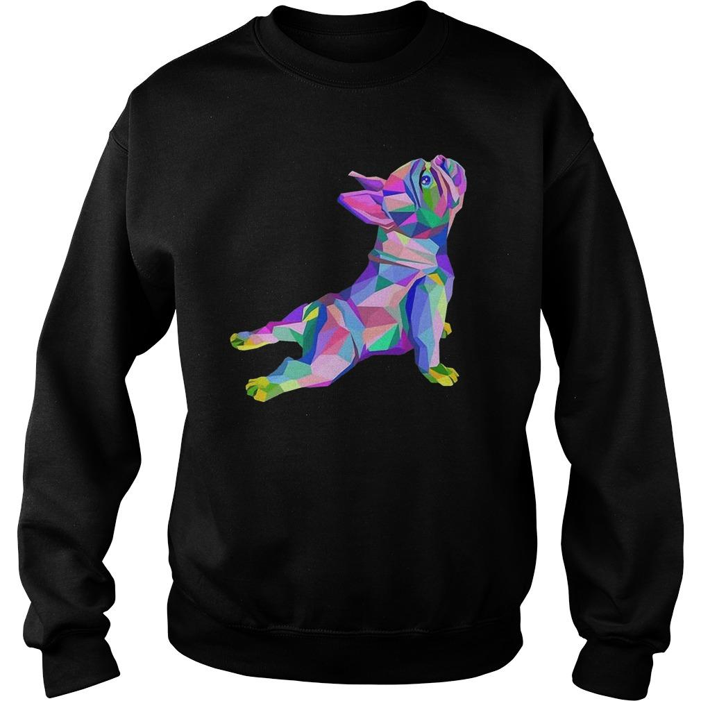 Yoga French Bulldog Sweater