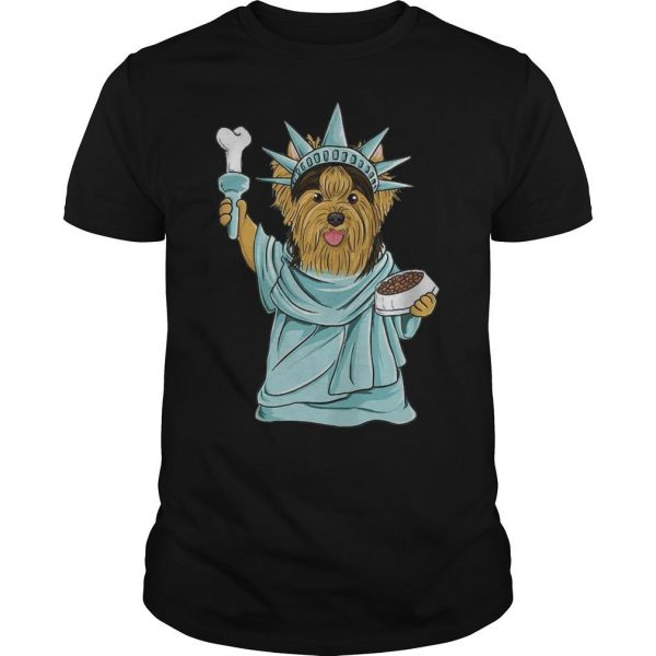 Yorkie Liberty Liberties Shirt