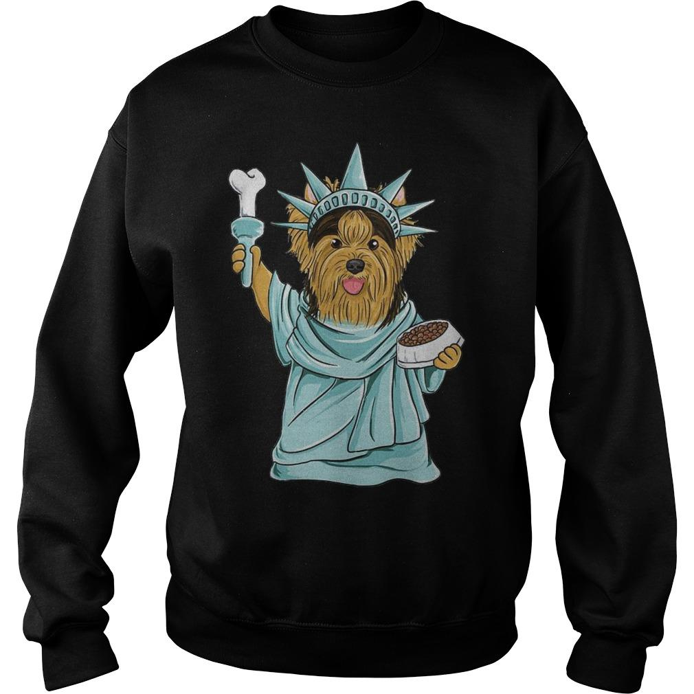 Yorkie Liberty Liberties Sweater