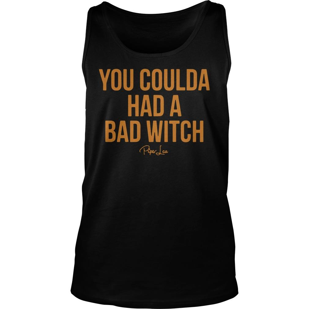You Coulda Had A Bad Witch Tank Top