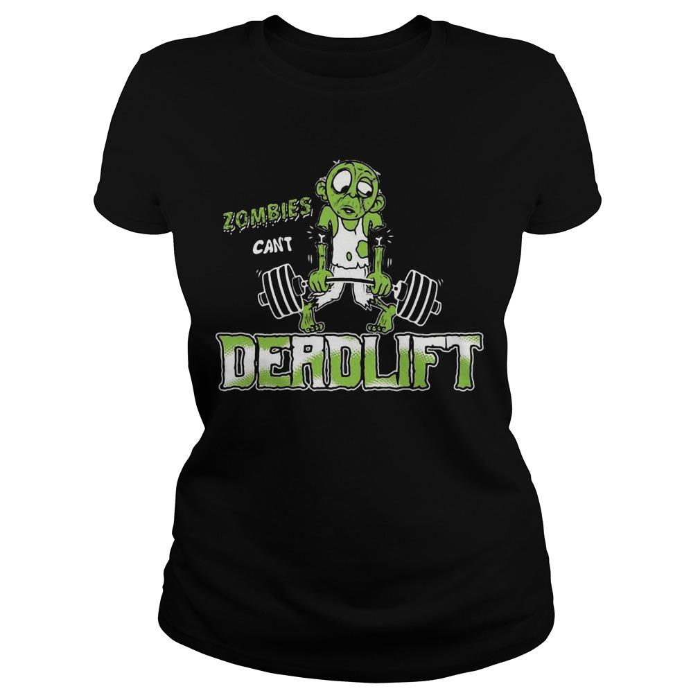 Zombies Can't Deadlift Longsleeve