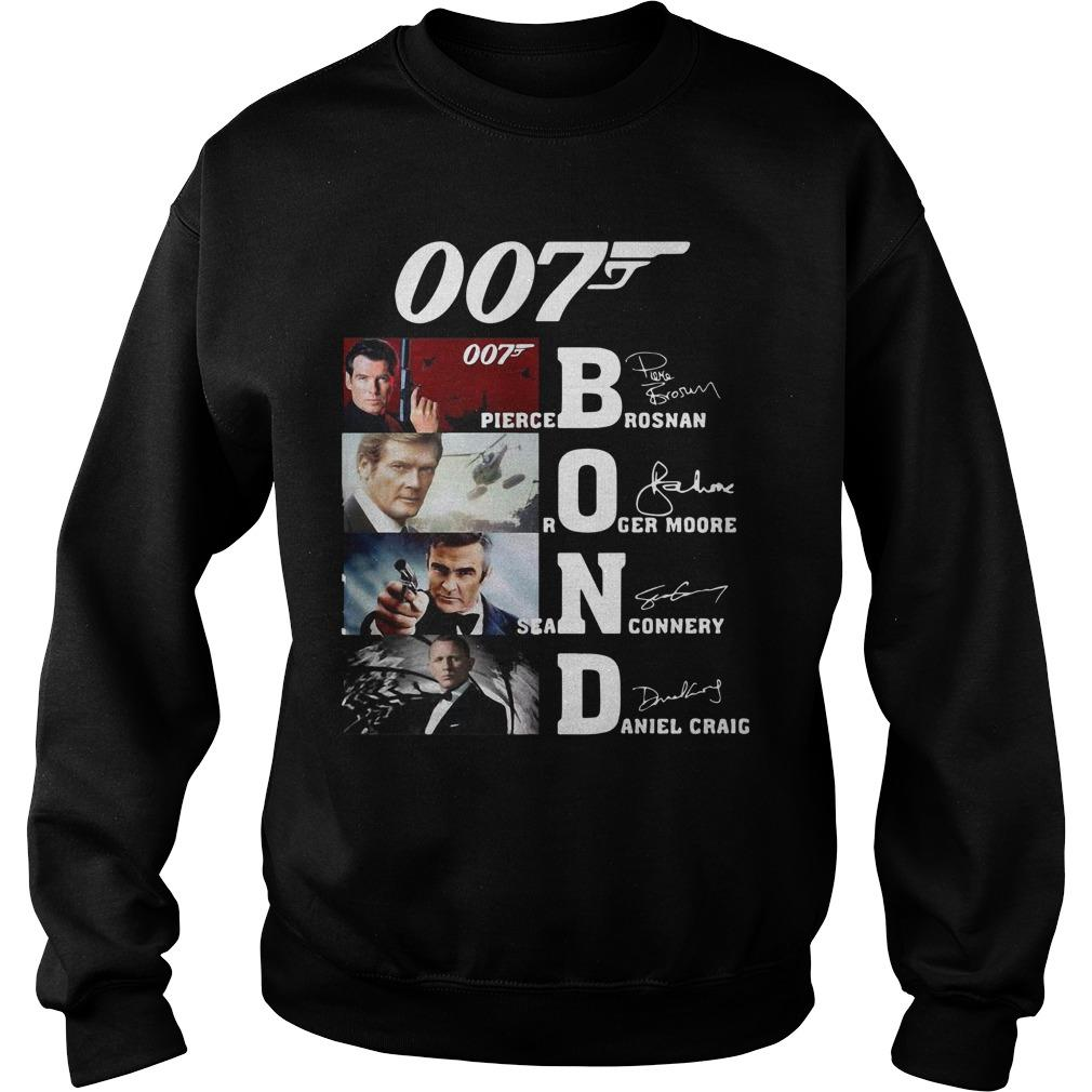 007 Pierce Brosnan Roger Moore Sean Connery Daniel Craig Sweater