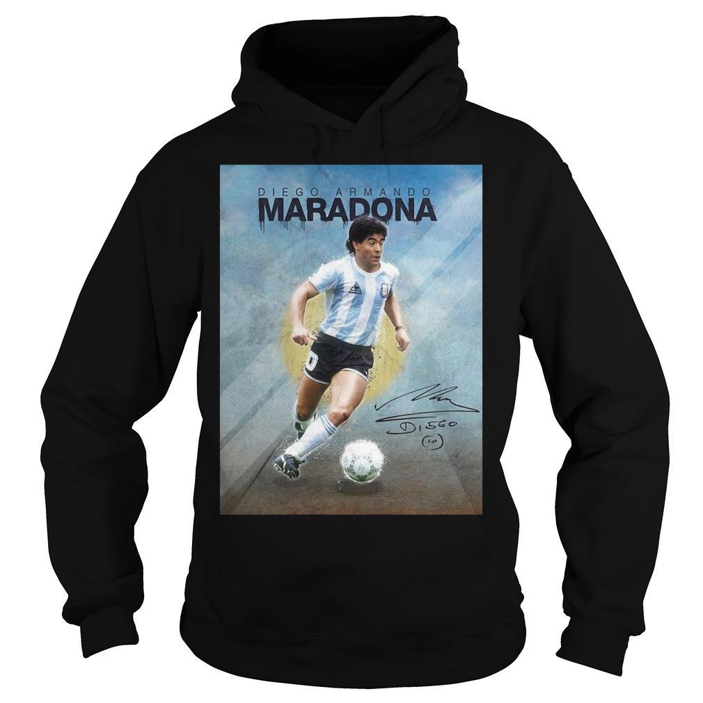 10 Diego Armando Maradona Legend Hoodie