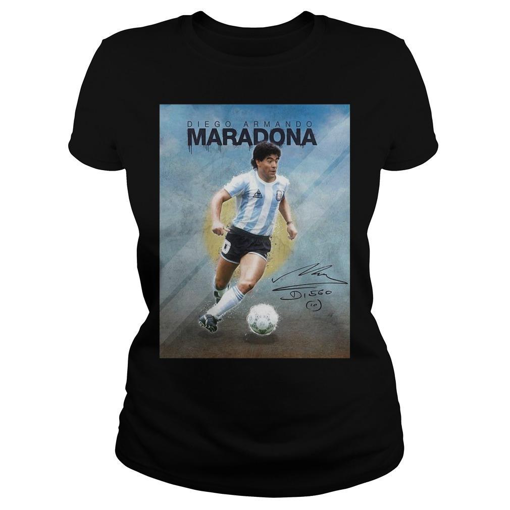 10 Diego Armando Maradona Legend Longsleeve