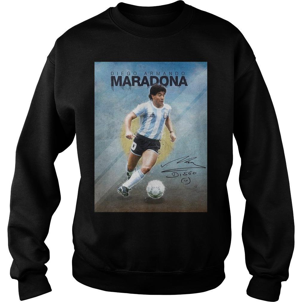 10 Diego Armando Maradona Legend Sweater