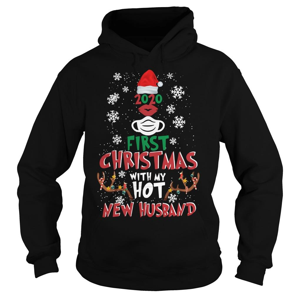 2020 First Christmas With My Hot New Husband Hoodie