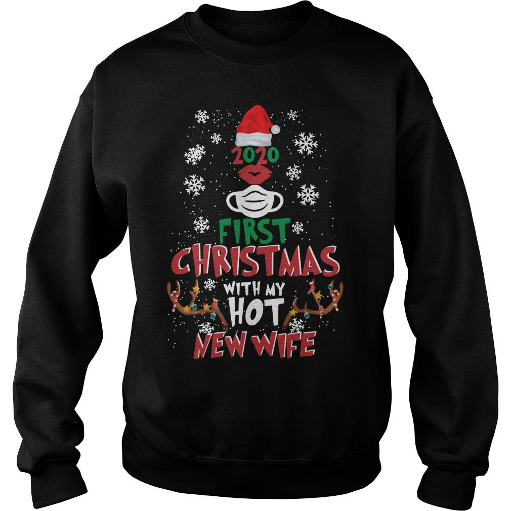2020 First Christmas With My Hot New Wife Sweater