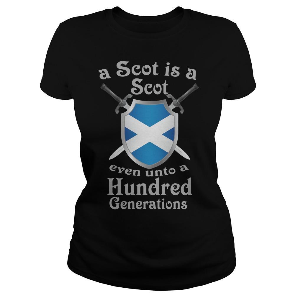 A Scot Is A Scot Even Unto A Hundred Generations Longsleeve