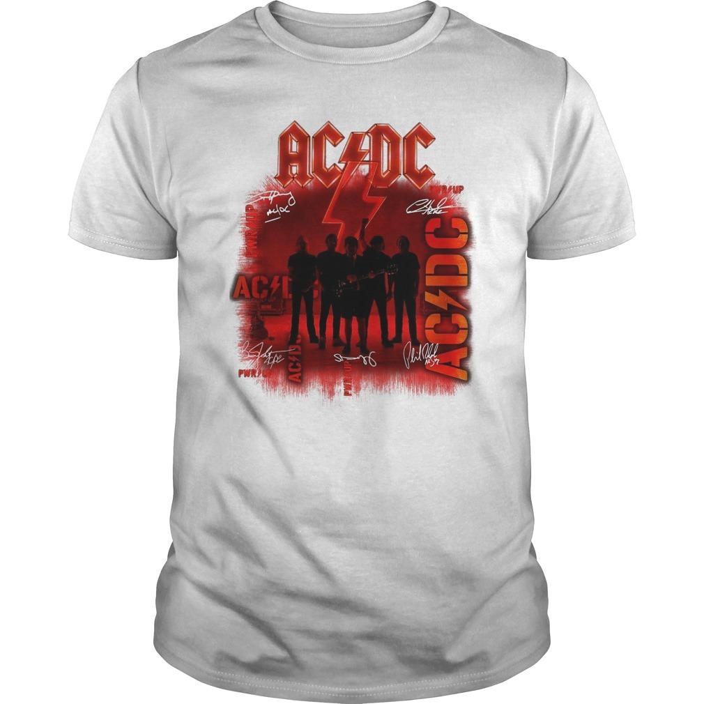 Ac Dc Signatures Power Up Longsleeve