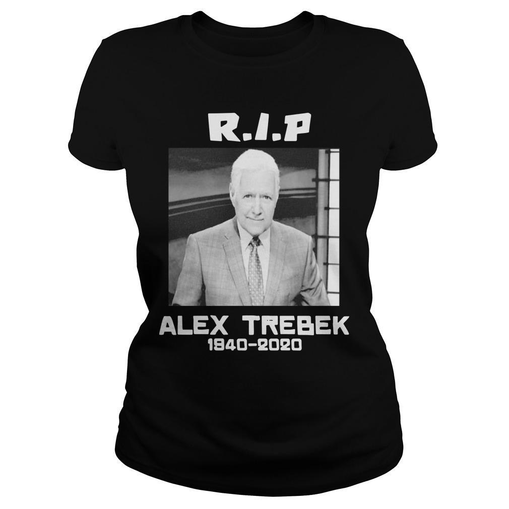 Alex Trebek 1940 2020 Rip Longsleeve