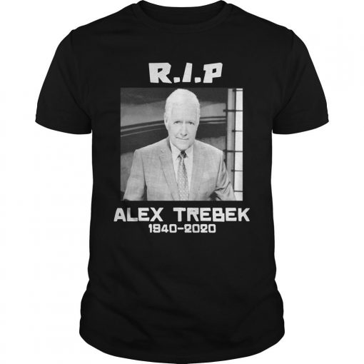 Alex Trebek 1940 2020 Rip Shirt