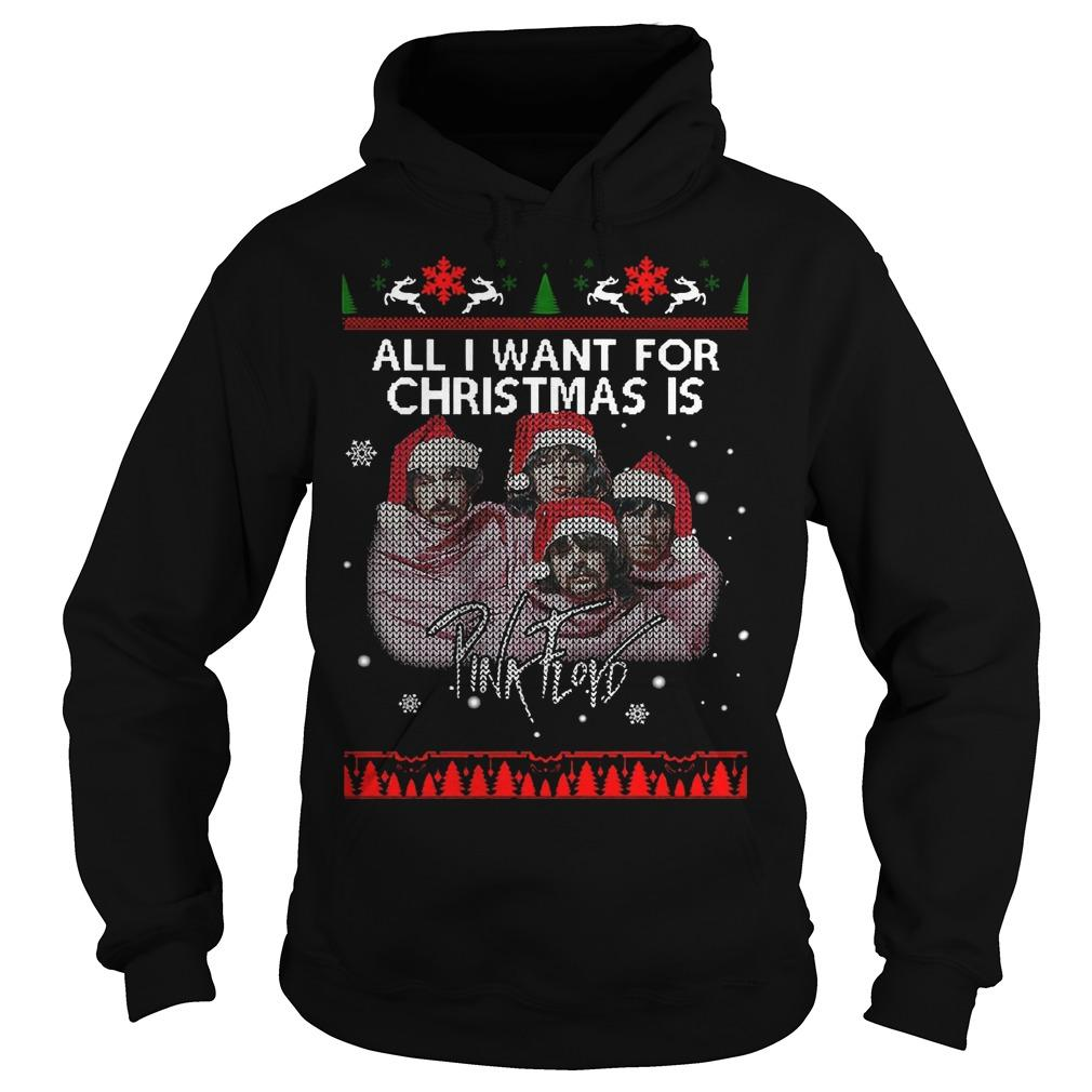 All I Want For Christmas Is Pink Floyd Hoodie