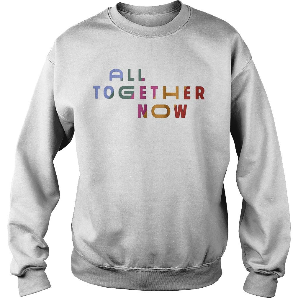 All Together Now Starbucks Pride Sweater