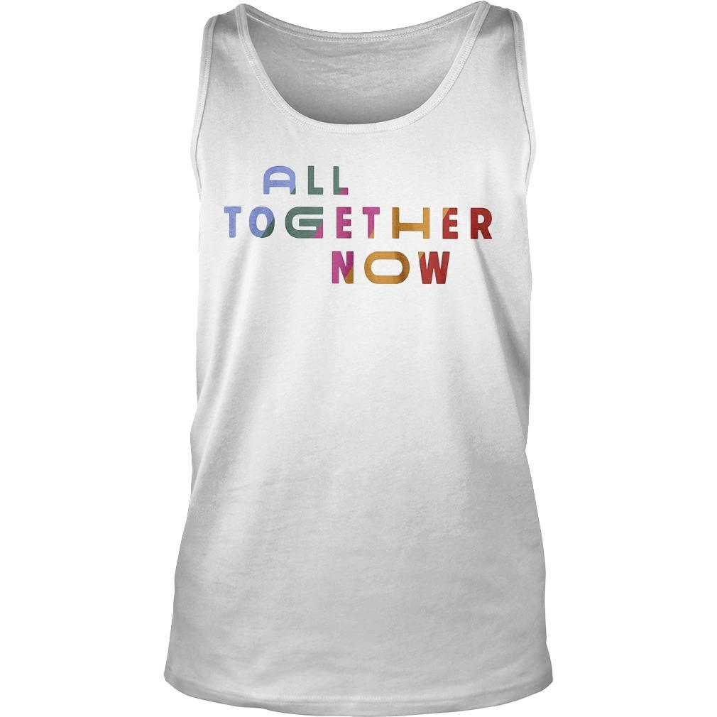 All Together Now Starbucks Pride Tank Top