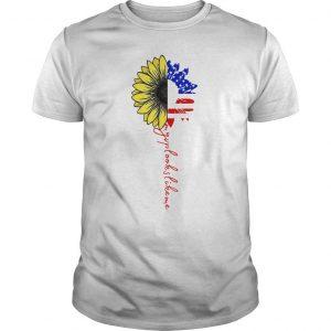 American Flag Sunflower My Vp Looks Like Me Shirt
