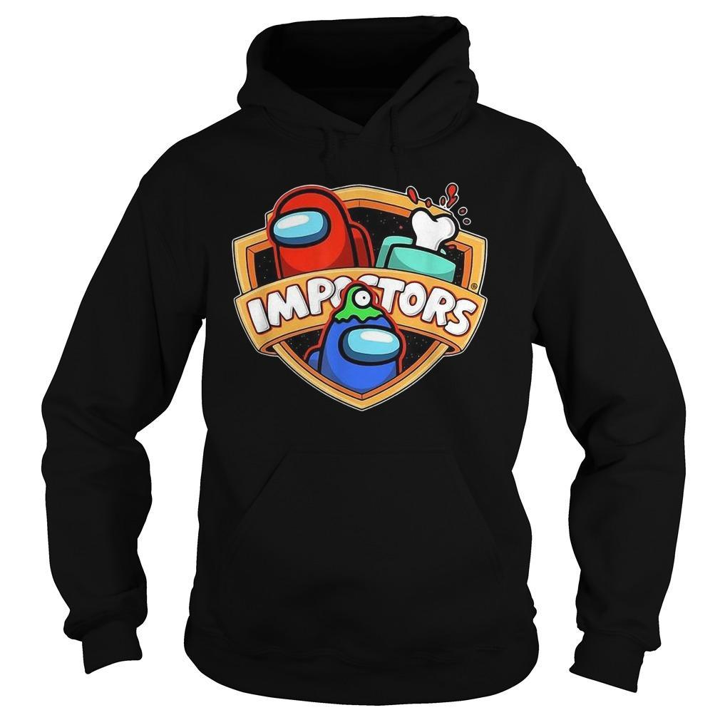Among Game Us Sus Gift Imposter Impostor Hoodie