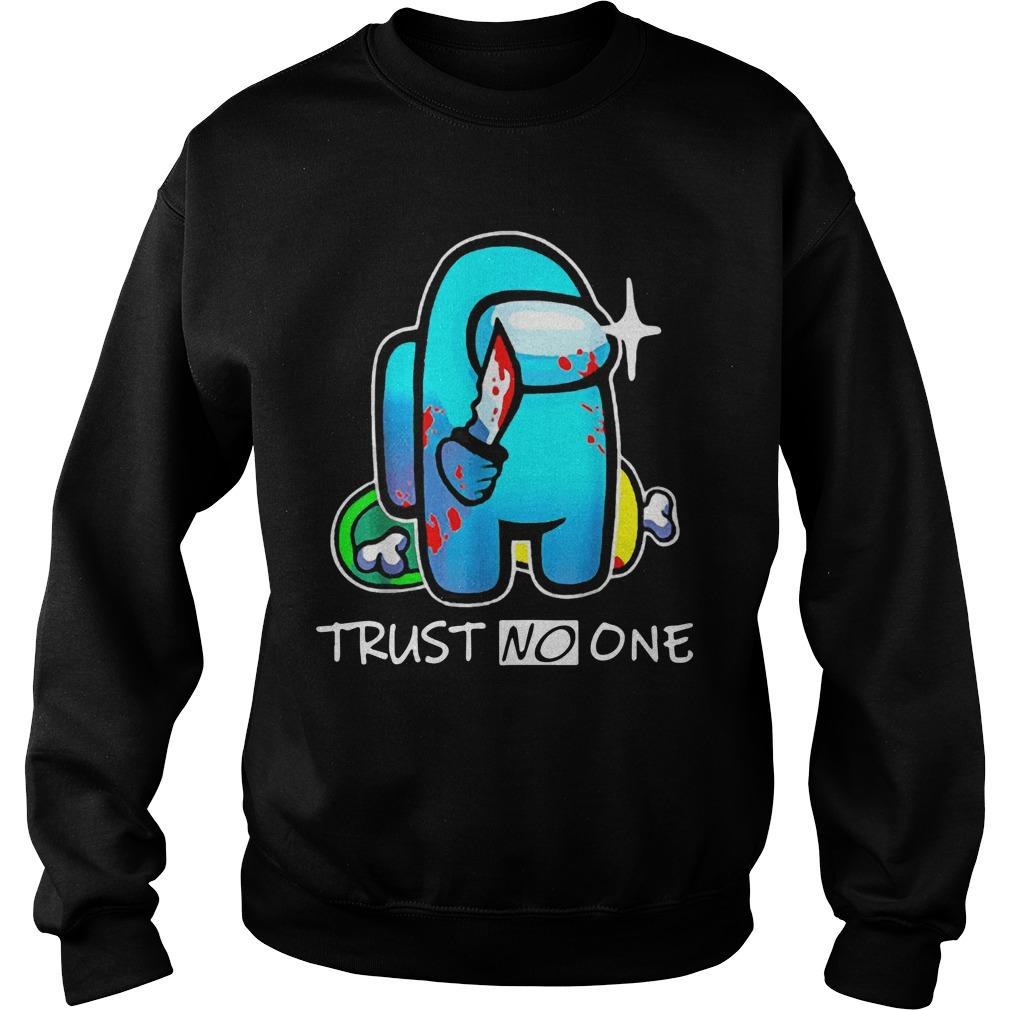 Among Us Impostor Trust No One Sweater