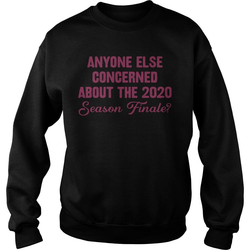 Anyone Else Concerned About The 2020 Season Finale Sweater