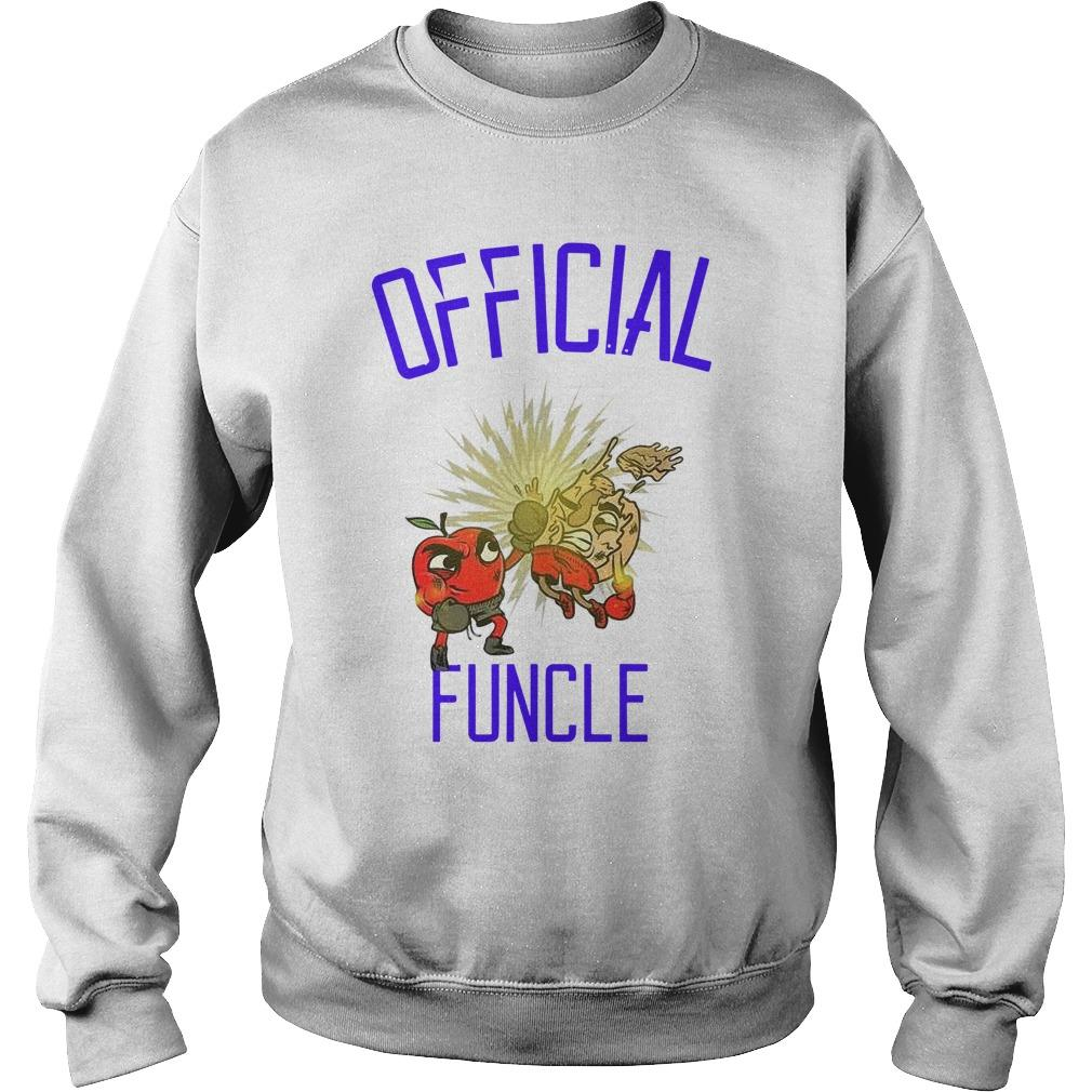 Apple Boxing Official Funcle Sweater