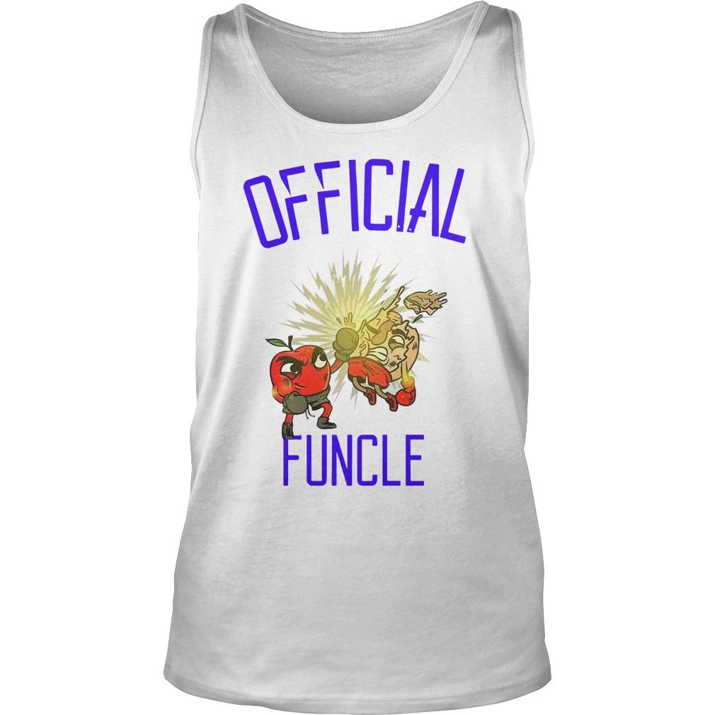 Apple Boxing Official Funcle Tank Top