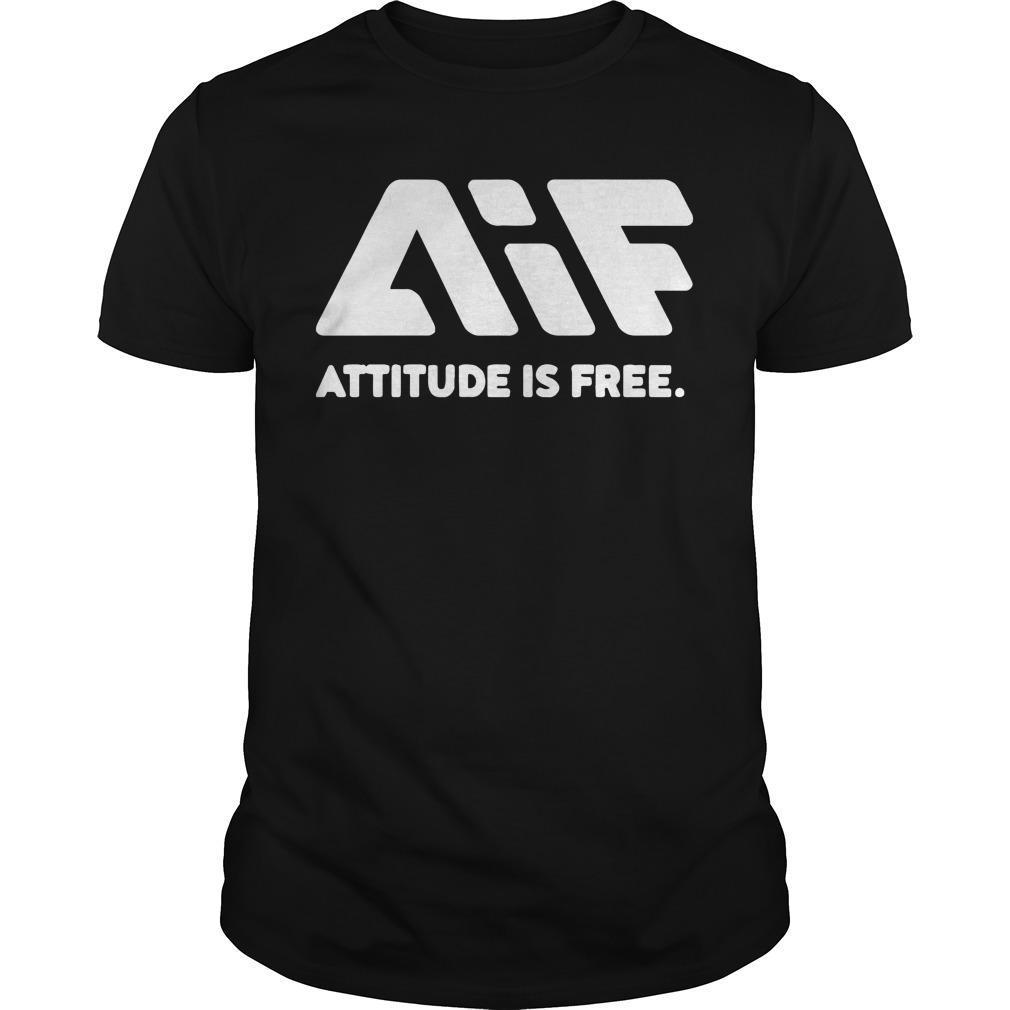 Attitude Is Free Longsleeve