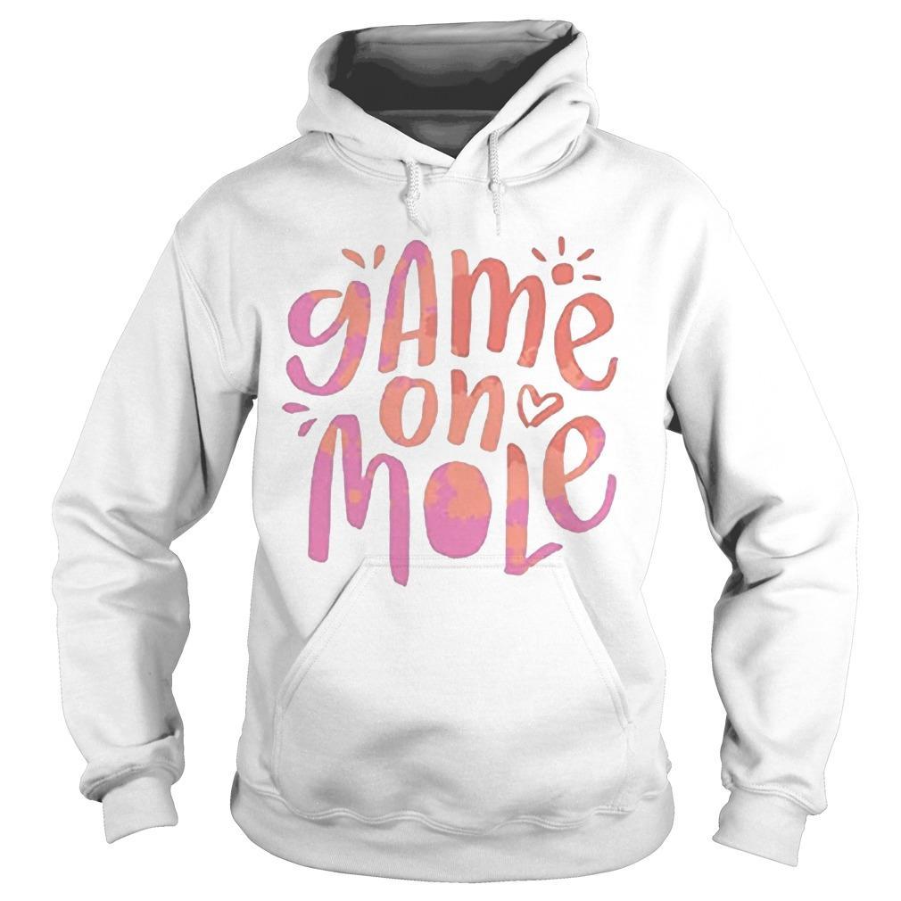 Aussie Game On Mole T Hoodie