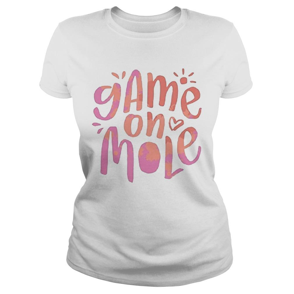 Aussie Game On Mole T Longsleeve