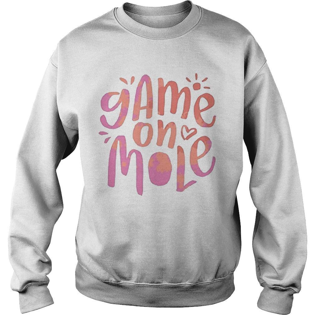 Aussie Game On Mole T Sweater