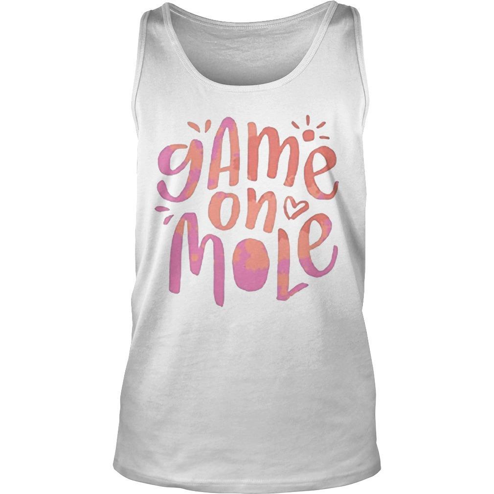 Aussie Game On Mole T Tank Top