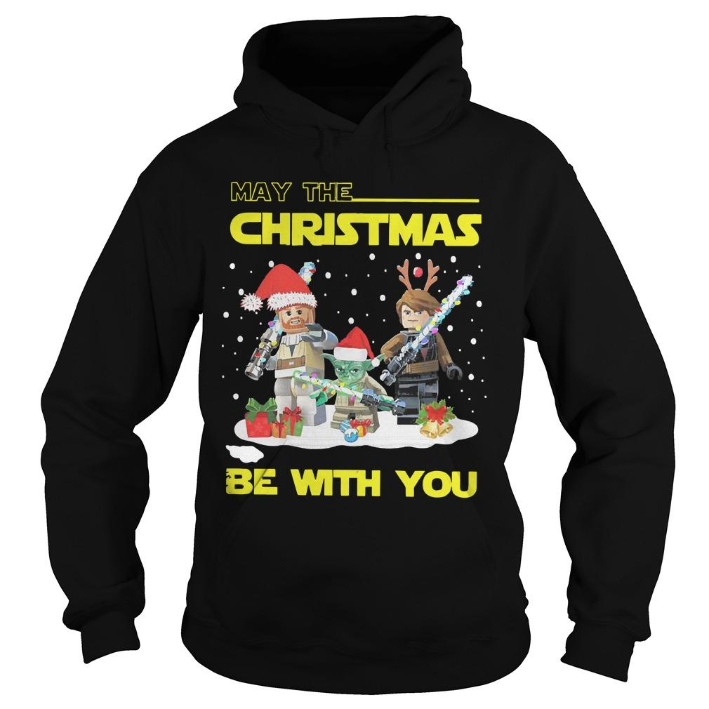 Baby Yoda And Lego Star Wars May The Christmas Be With You Hoodie