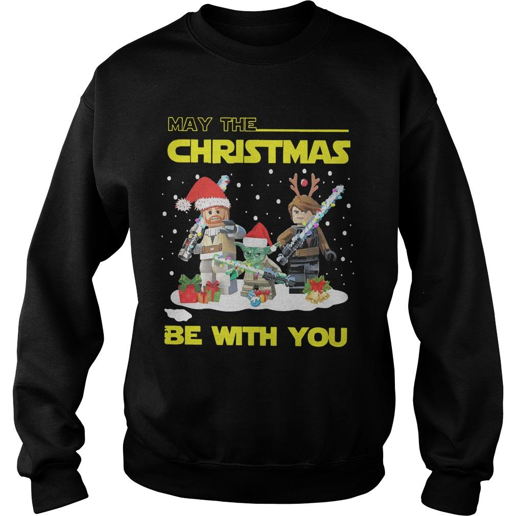 Baby Yoda And Lego Star Wars May The Christmas Be With You Sweater