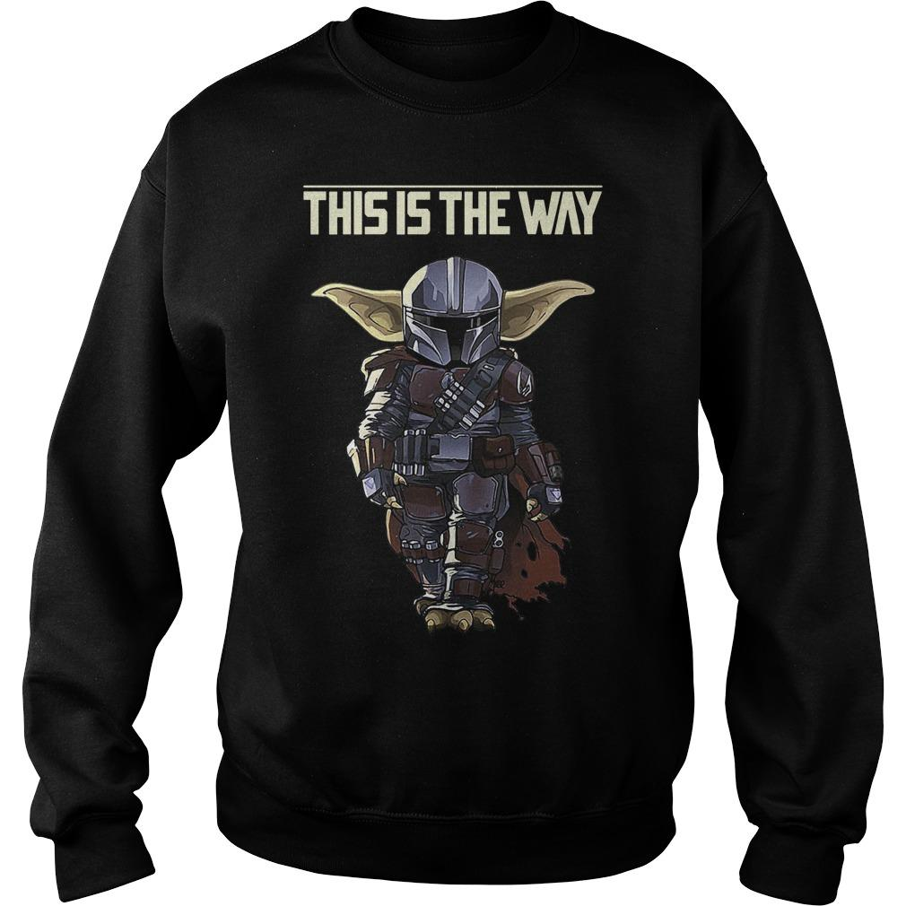 Baby Yoda In Mandalorian This Is The Way Sweater