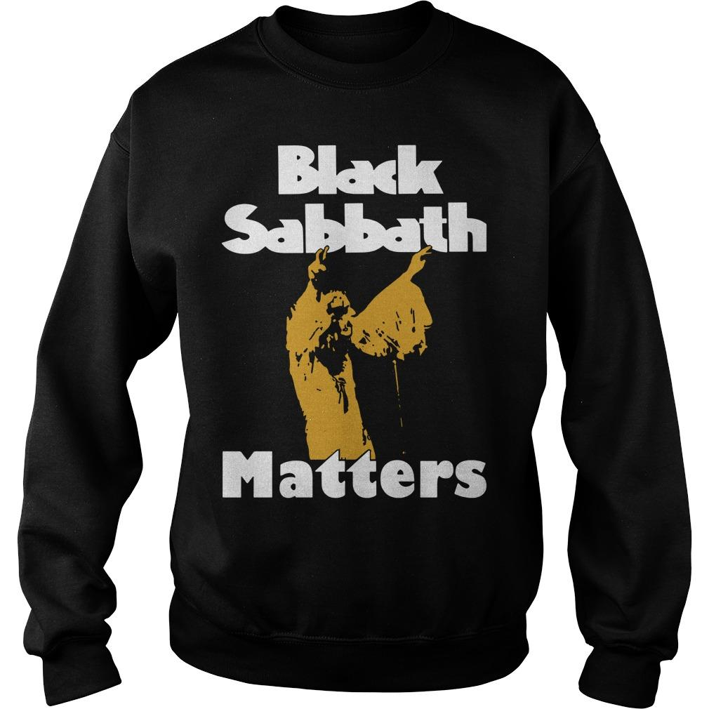 Black Sabbath Matters Sweater