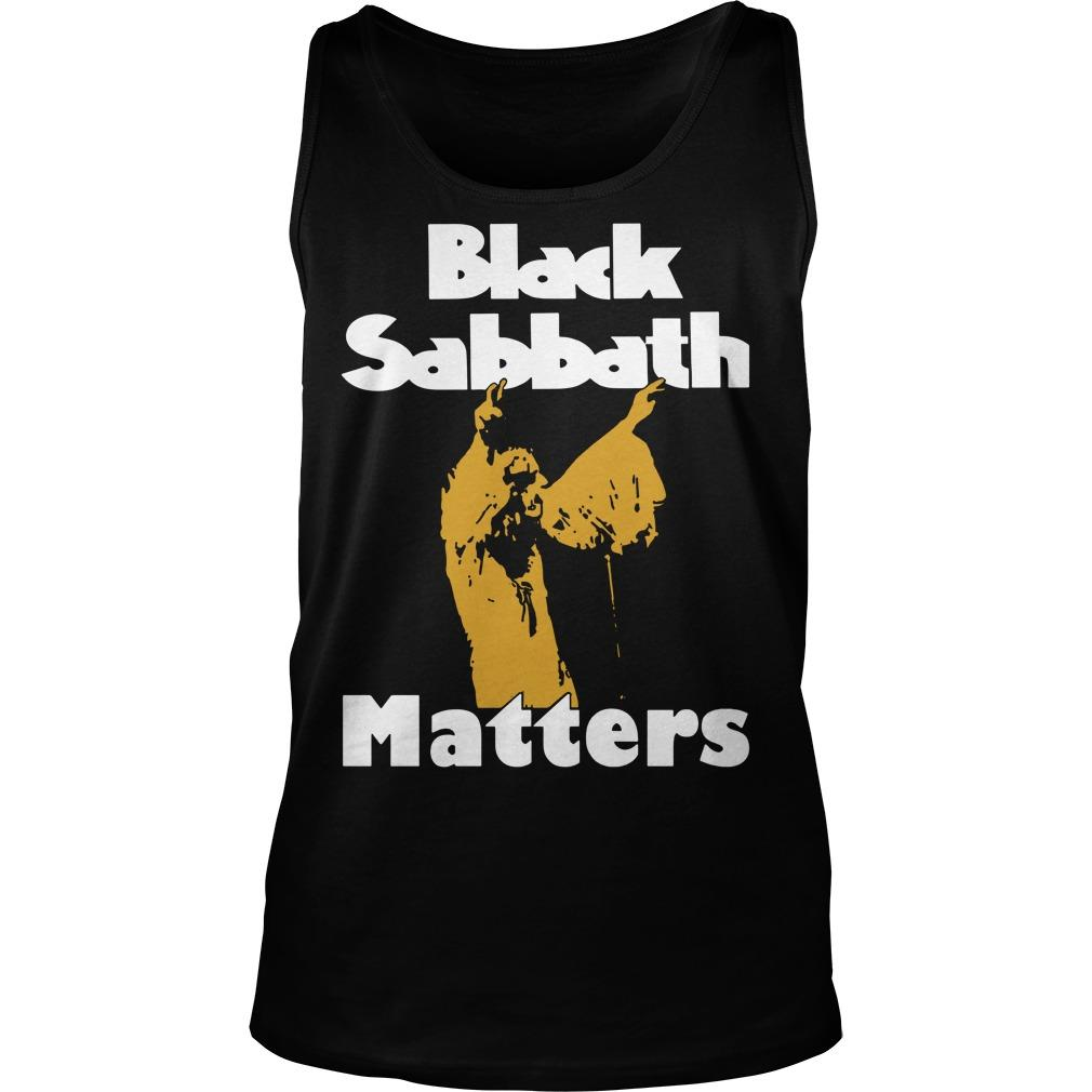 Black Sabbath Matters Tank Top
