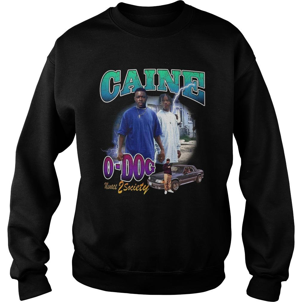 Caine O Dog Menace Z Society Sweater