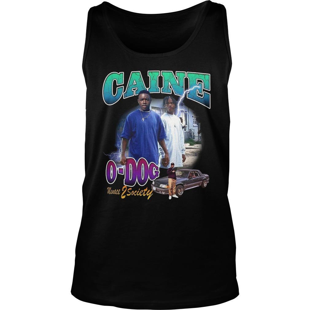 Caine O Dog Menace Z Society Tank Top