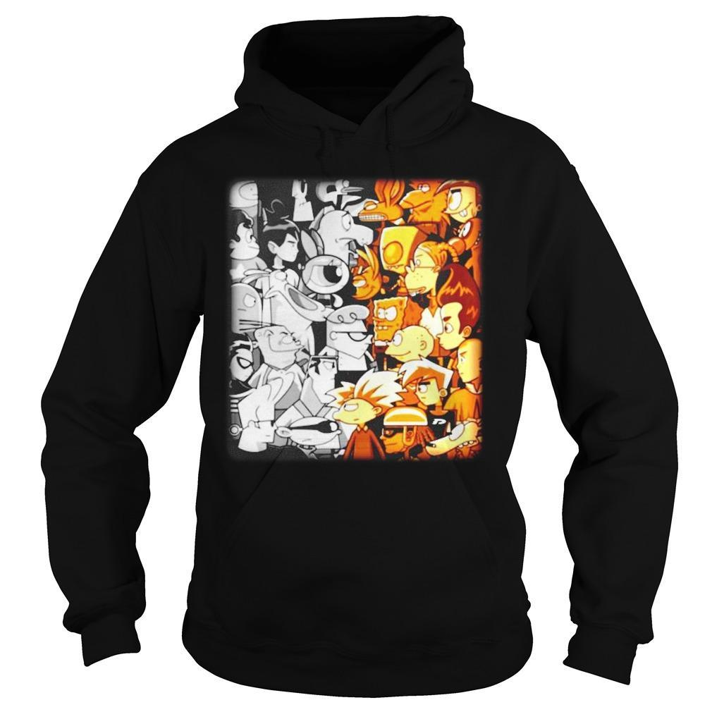 Cartoon Network Vs Nickelodeon Hoodie