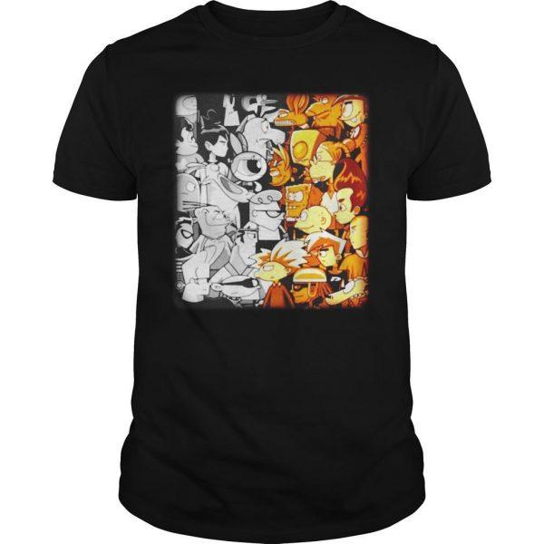 Cartoon Network Vs Nickelodeon Shirt