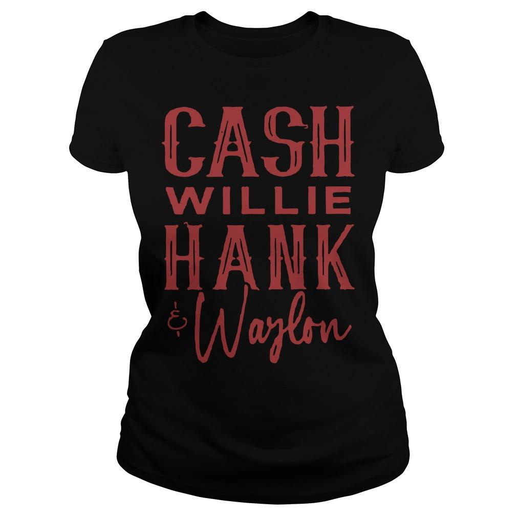 Cash Willie Hank Waylon Longsleeve